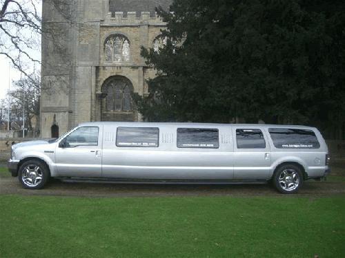 Jeep Expedition limousine hire london