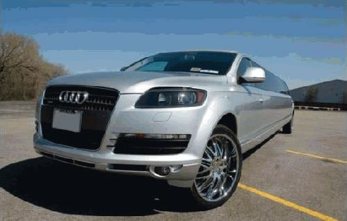 Audi Q7 limousine hire london