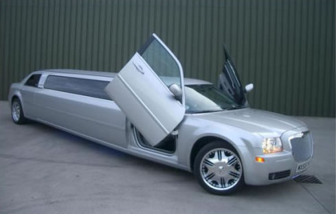 Chrysler C300 limo hire london