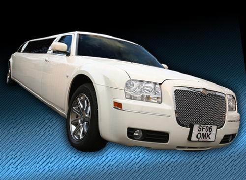 Chrysler C300 limousine hire london