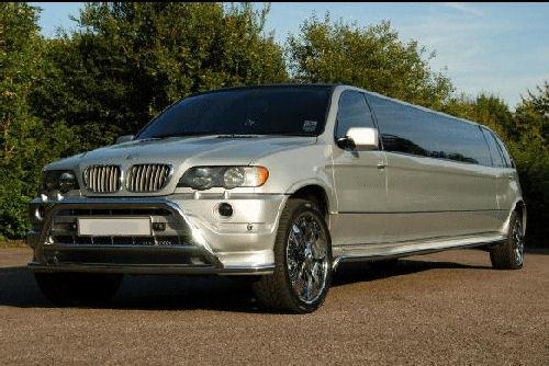 BMW X5 limousine hire london