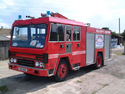 Fire Engine limo hire london