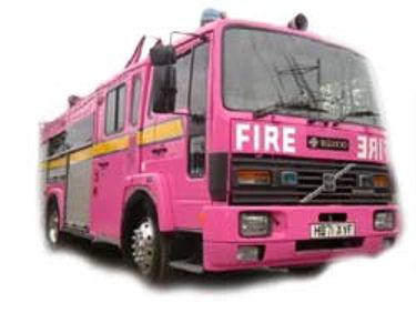Fire Engine limousine hire london