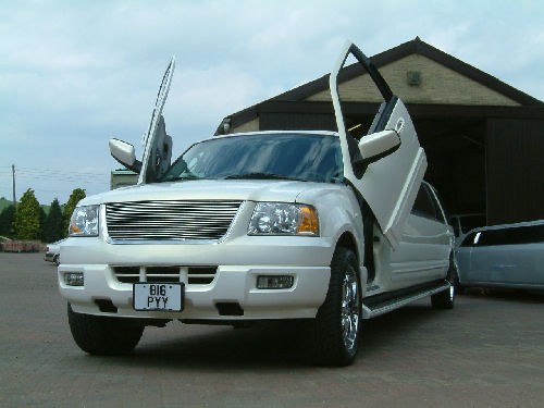 Ford Excursion 4x4 limo hire london