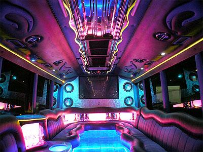 Party Bus limousine hire london