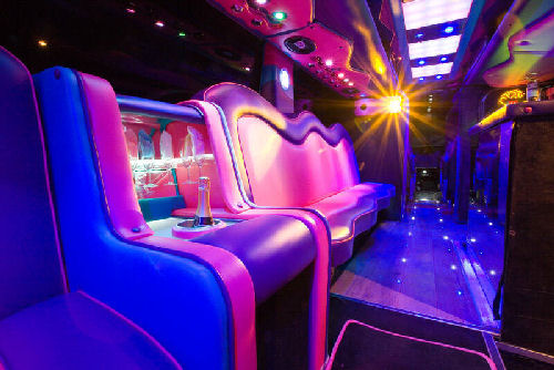 Party Bus limo hire london