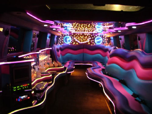 Pink Hummer limo hire london