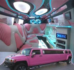 Pink Hummer limousine hire london
