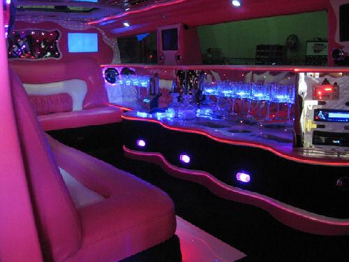 Pink Hummer limousine hire london