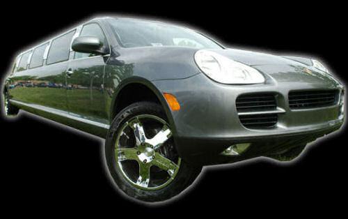 Porsche Cayenne limousine hire london