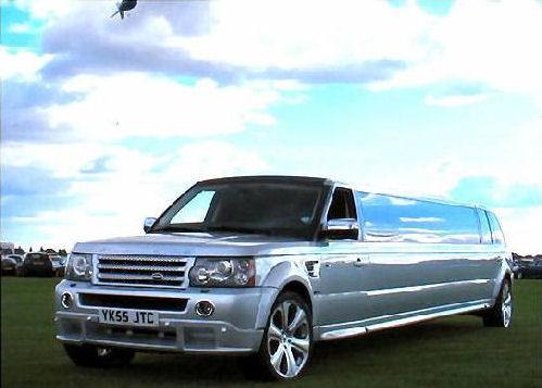 Range Rover limousine hire london
