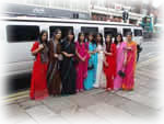 asian wedding limousine hire london