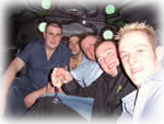 stag night limousine hire london