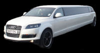audi limo hire london