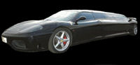 ferrari limo hire london